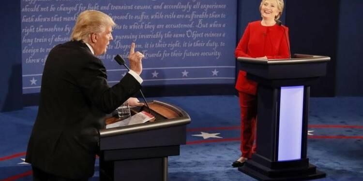 Premier débat houleux entre Hillary Clinton et Donald Trump