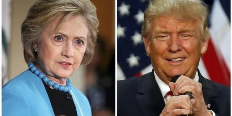Trump et Clinton devront convaincre les indécises lundi