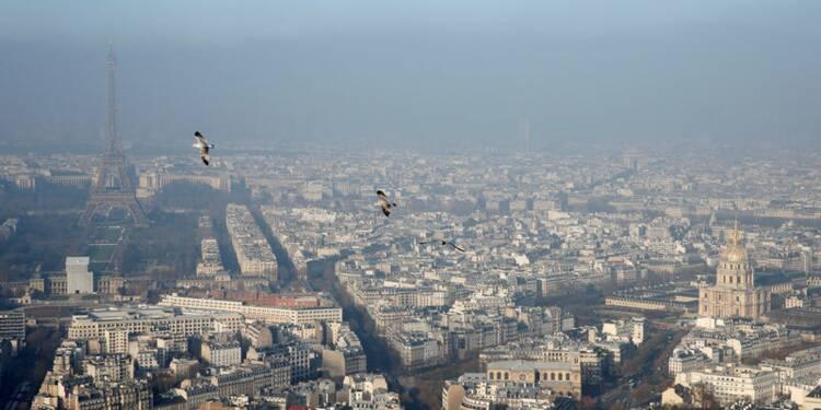 Paris inaugure lundi la circulation différenciée, Lyon en alternée
