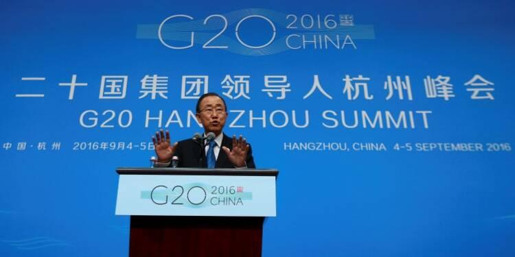 Le débat avec les climatosceptiques est terminé pour Ban Ki-moon