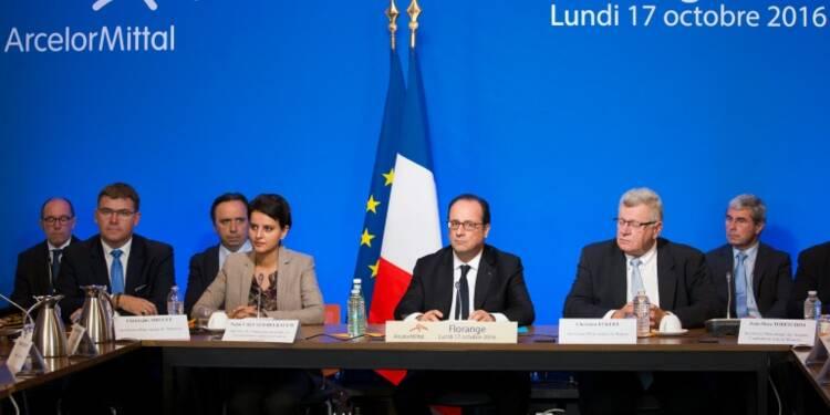 François Hollande en catimini à Florange