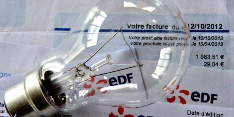 Factures d'électricité: le rattrapage atteindra près d'un milliard d'euros