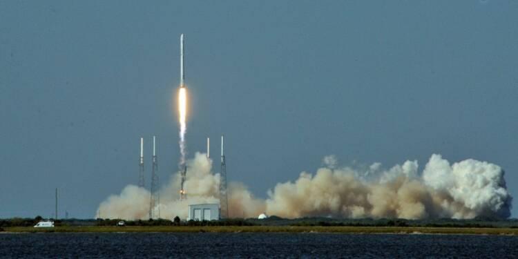 SpaceX lance son vaisseau Dragon vers l'ISS lundi pour une mission de fret