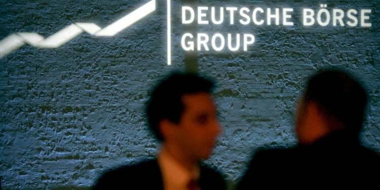 Un bénéfice d'exploitation en hausse de 8% chez Deutsche Börse