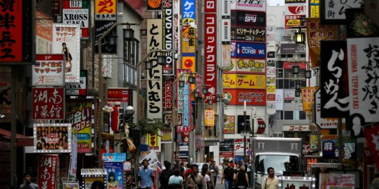 La contraction des services au Japon s'amplifie