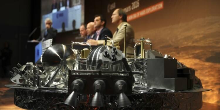 Sans nouvelle du module européen sur Mars