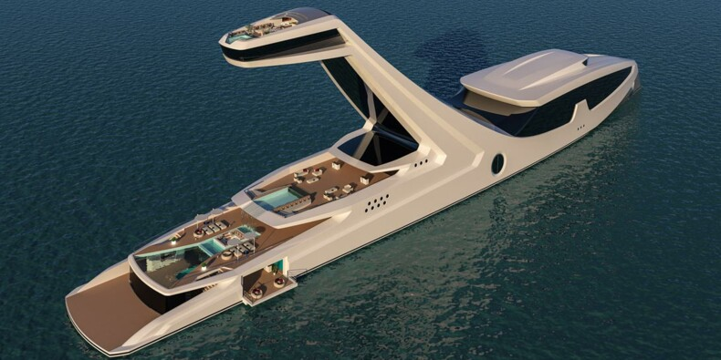 Découvrez le yacht le plus mégalo du monde