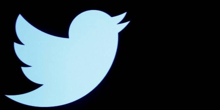 La croissance de Twitter ralentit, le titre plonge