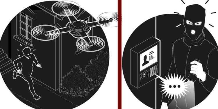 Drones, vidéosurveillance, armes high-tech... comment vous serez protégés dans 10 ans
