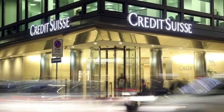 Credit Suisse prévoit un avenir difficile, le titre chute