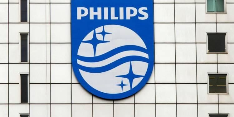 Philips annonce des résultats décevants et un conflit aux USA