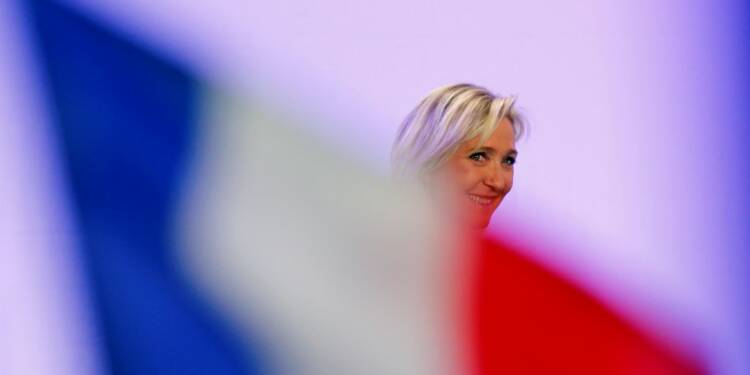 Le Pen qualifiée pour le second tour dans tous les cas