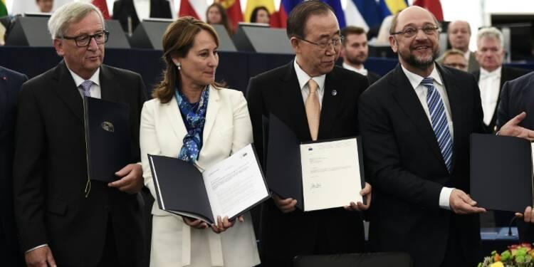 Climat: l'UE prête à déclencher l'entrée en vigueur de l'accord de Paris