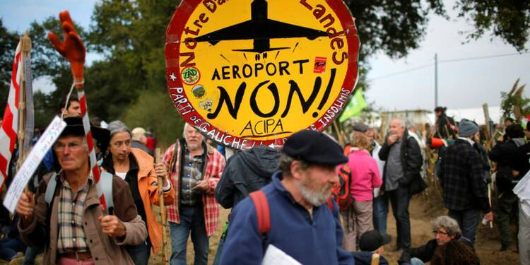 Des milliers d'opposants mobilisés à Notre-Dame-des-Landes