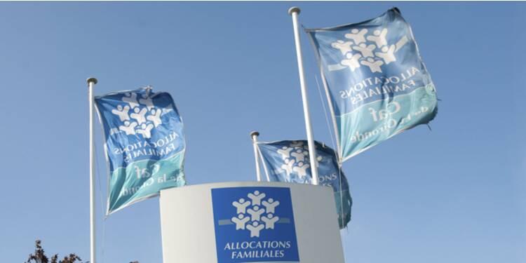 La CAF a versé 67 milliards d'euros à ses allocataires en 2013