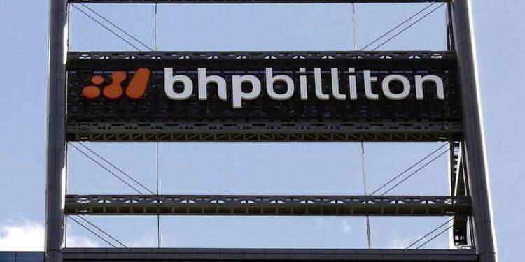 BHP: Production de minerai de fer en hausse de 9% au 4e trimestre