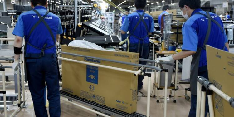 Japon: la production industrielle stagne en septembre