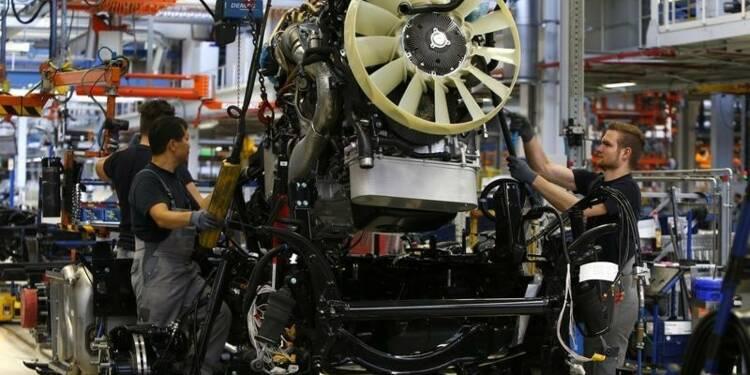 L'industrie accélère dans la zone euro, portée par la demande
