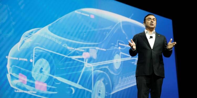 Renault-Nissan a vendu plus de 400.000 véhicules électriques, dit Ghosn