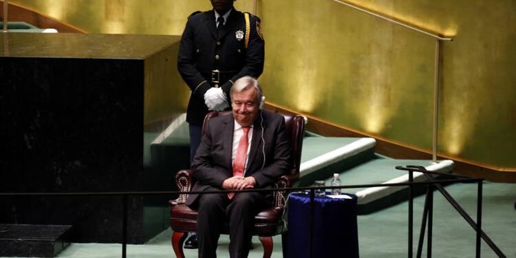 Antonio Guterres élu secrétaire général de l'Onu