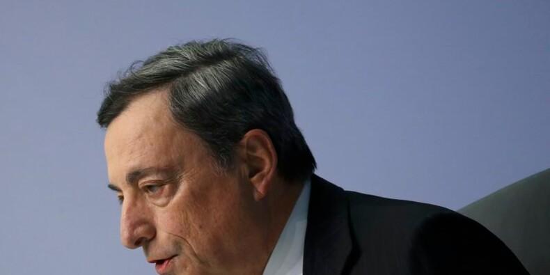 Un pays quittant la zone euro devrait solder son compte, dit Draghi