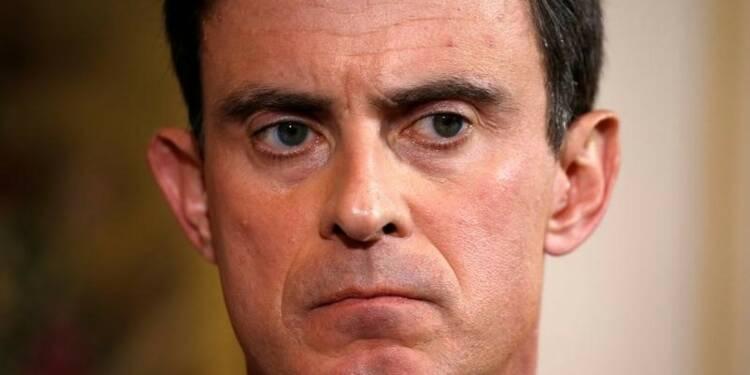 """Valls assume un """"désaccord fort"""" avec Berlin sur la croissance"""