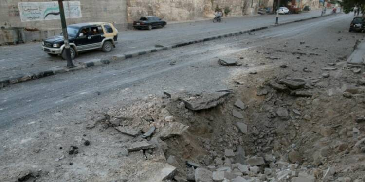 Alep sous les bombes, les hôpitaux syriens débordés