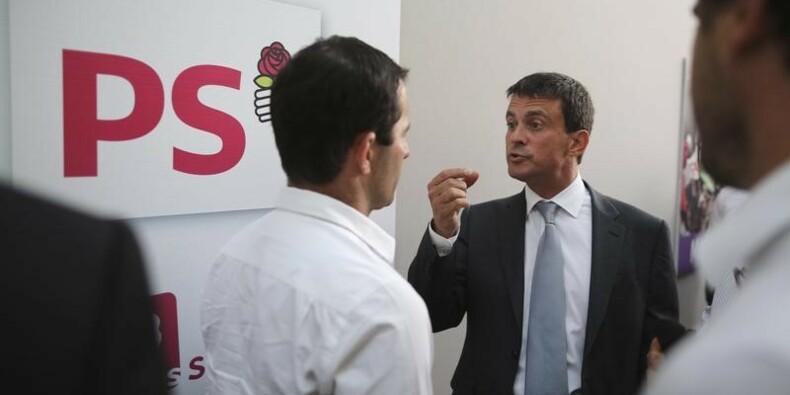 Le duel entre Valls et Hamon vire à l'aigre