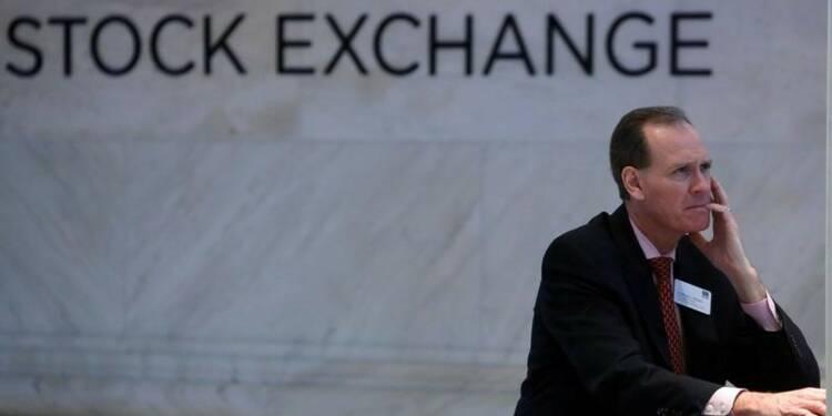 Wall Street baisse, l'effet Trump s'estompe avant la Fed