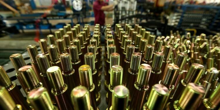 Meilleure croissance du secteur manufacturier chinois en 2 ans