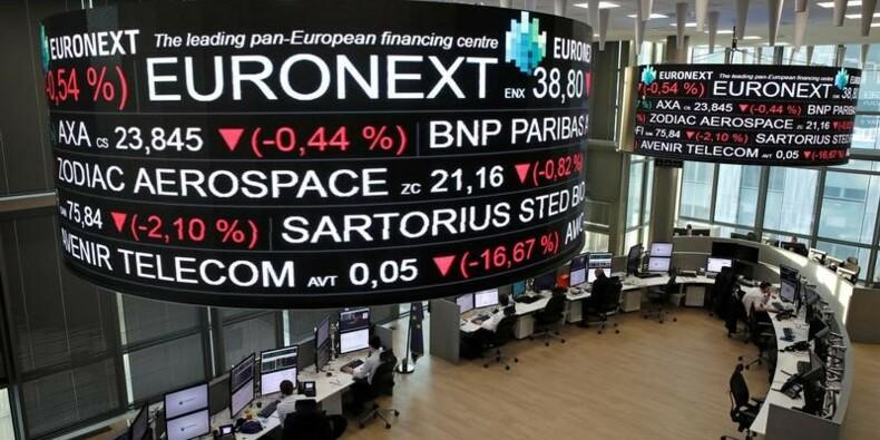 Les Bourses européennes finissent en léger repli