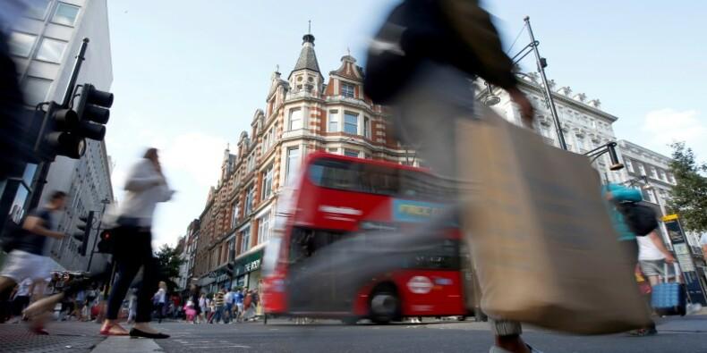 La consommation des ménages britanniques porte la croissance