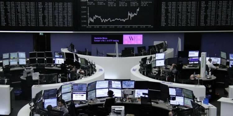 Les Bourses européennes soutenues par les banques après Draghi
