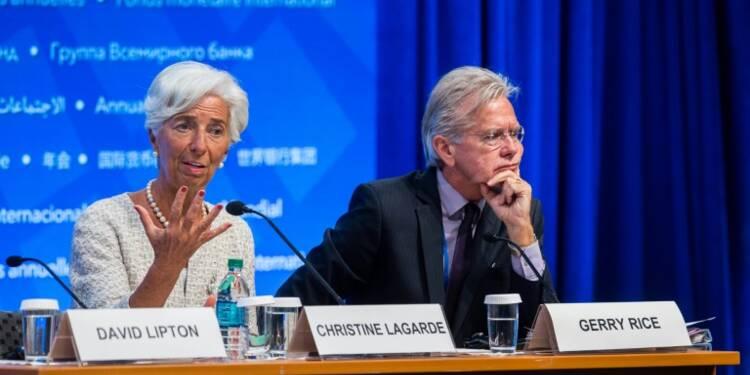 """La patronne du Fonds monétaire international dit aux Etats """"de l'action"""""""