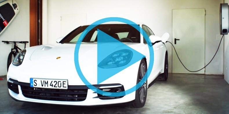 Découvrez la première Porsche électrique