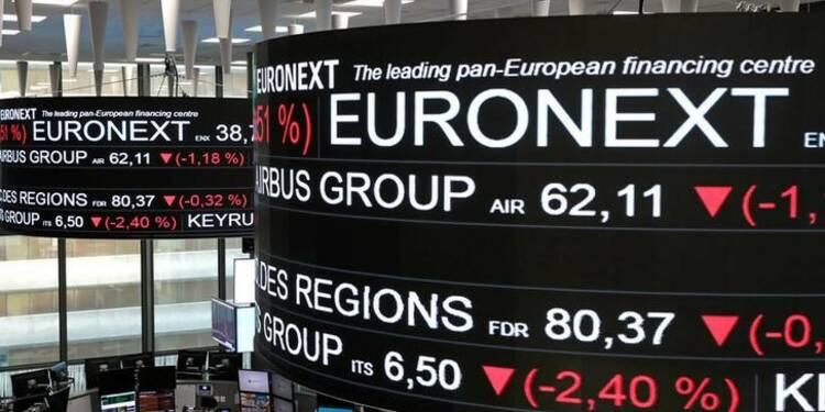 Les marchés européens en hausse à mi-séance