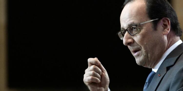 """Hollande fait l'éloge du """"temps long"""" et du rassemblement"""