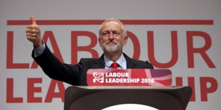 Largement réélu à la tête du Labour, Corbyn prône l'unité