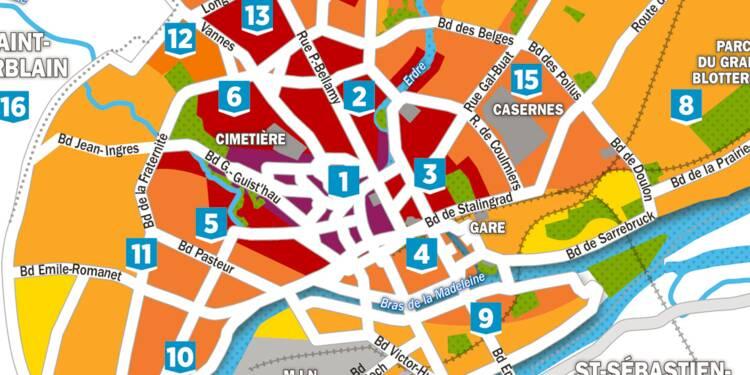 Immobilier : la carte des prix à Nantes