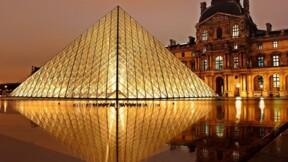 Comment Emmanuel Macron a choisi l'esplanade du Louvre pour fêter sa victoire