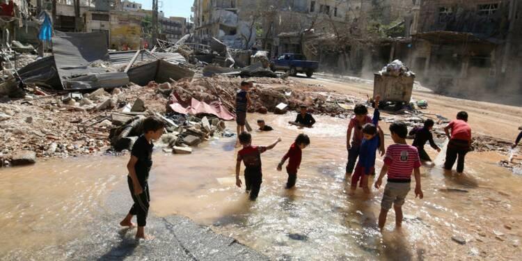 La moitié des civils veulent quitter l'est d'Alep