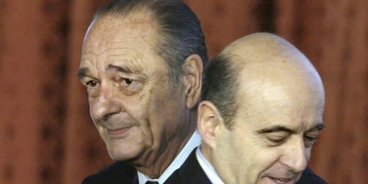 Juppé considéré comme l'héritier de Chirac, selon l'Ifop