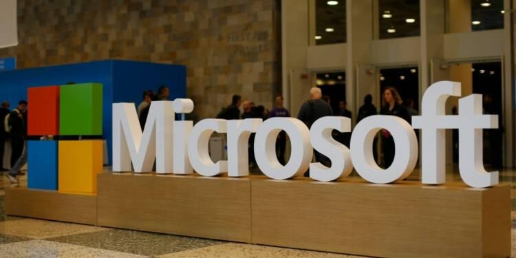 Microsoft vers un nouveau record à Wall Street grâce au cloud