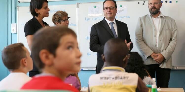 Les élèves doivent aller à l'école sans peur, dit Hollande