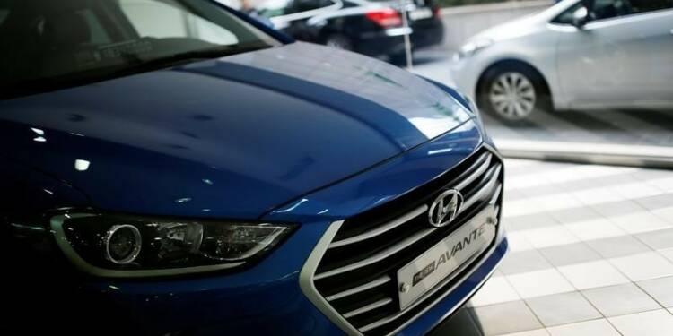 Baisse du bénéfice net trimestriel de Hyundai Motor