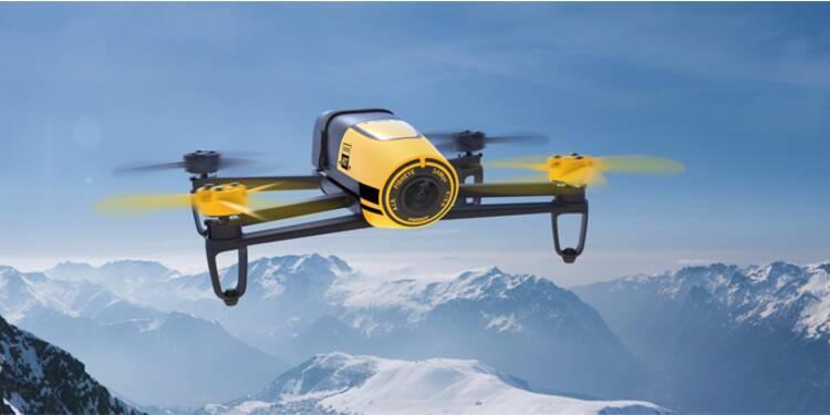 Le roi des drones de loisir Parrot dans le décor