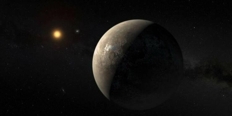 Des conditions peut-être favorables à la vie sur une exoplanète