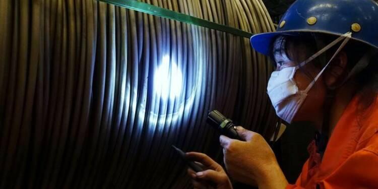 La production industrielle a gagné plus de 6% en début d'année