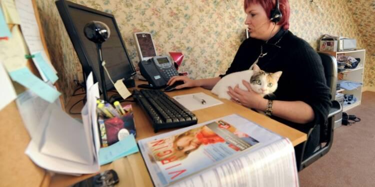 Le télétravail séduirait 65% des Français travaillant dans un bureau
