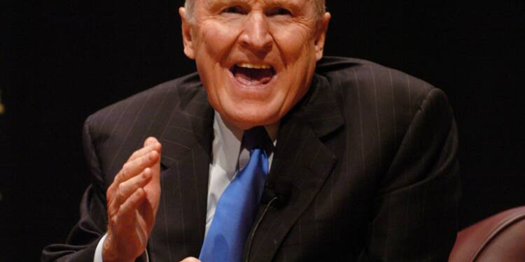 Jack Welch (né en 1935), General Electric : il a décuplé les profits de son groupe